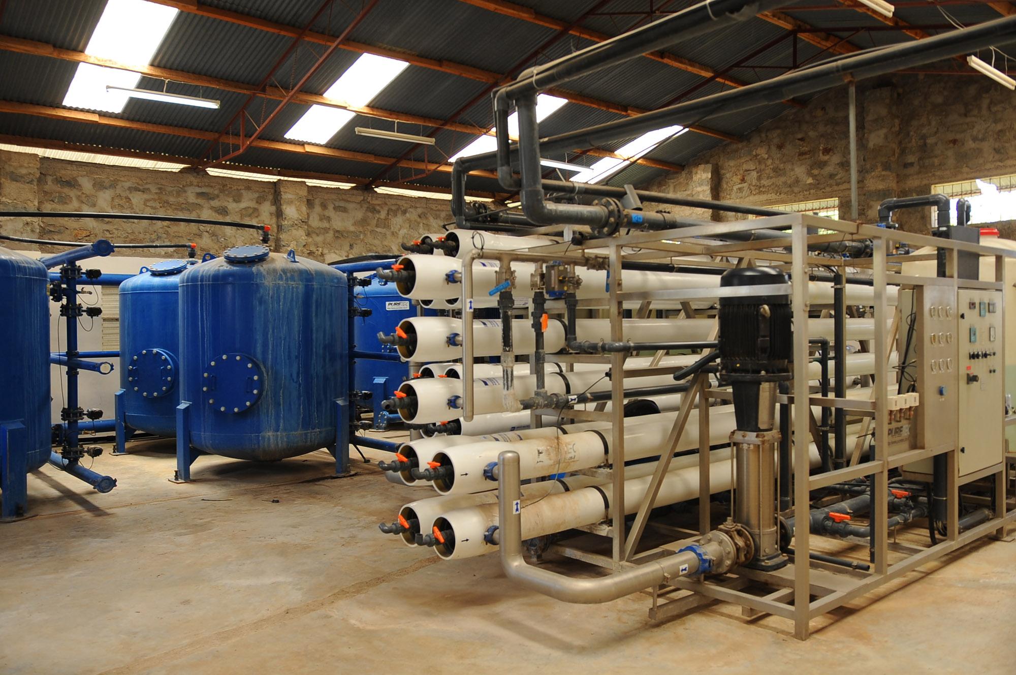 PJ Dave Flora Reverse Osmosis System