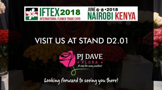 International Flower Trade Expo (IFTEX) 2018 Nairobi-Kenya.