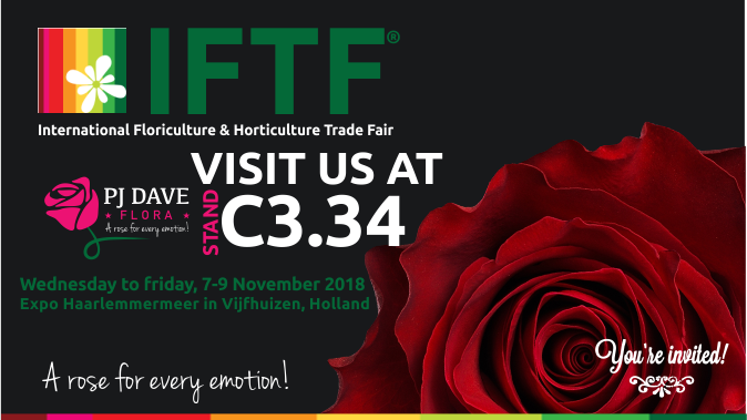International Floriculture Trade Fair (#IFTF2018).
