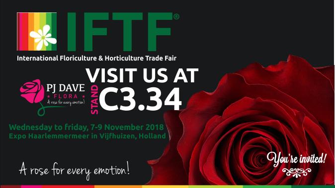 International Floriculture Trade Fair (#IFTF2018).