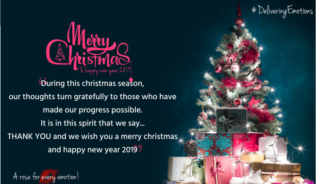 Merry Christmas And Happy New Year 2019 #HappyHolidays